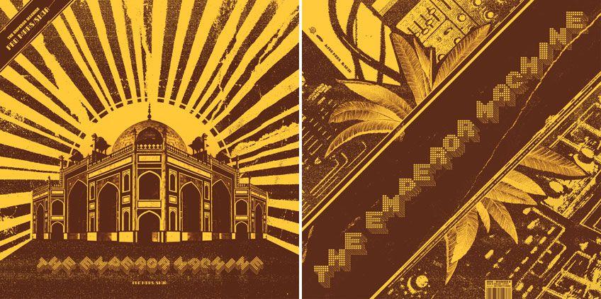 La Boca - The Emperor Machine record sleeve