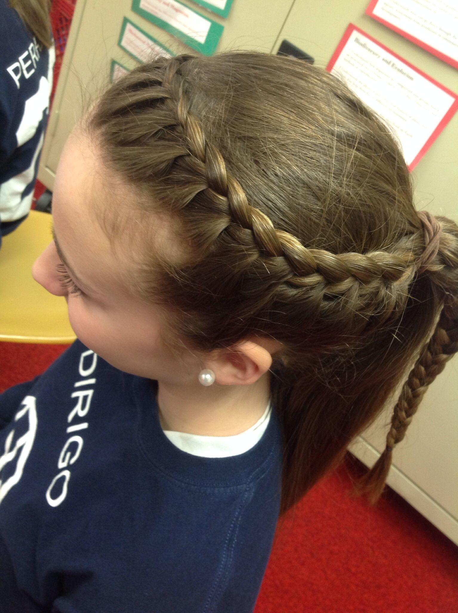 basketball hair