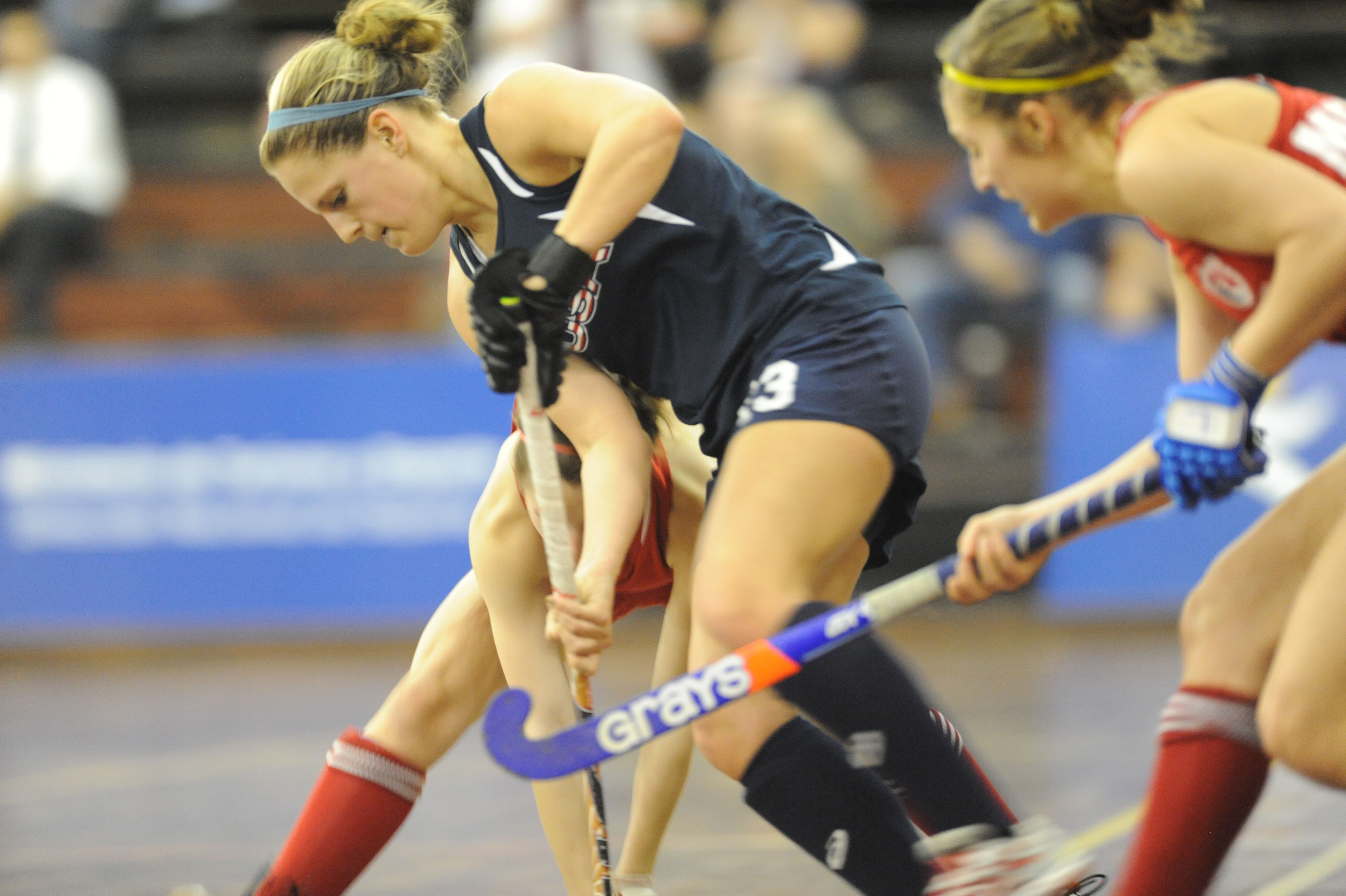 Team Usa Vs Canada At The 2014 Indoor Panam Cup   With