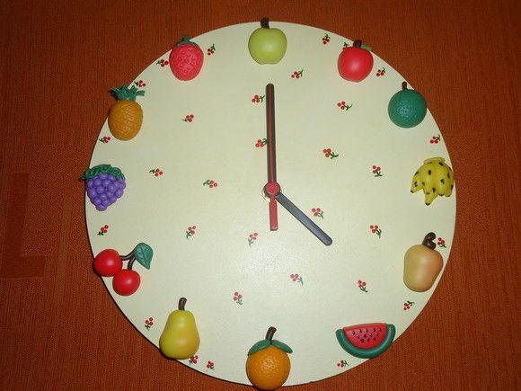 74855657ee0 Relógio de parede para cozinha