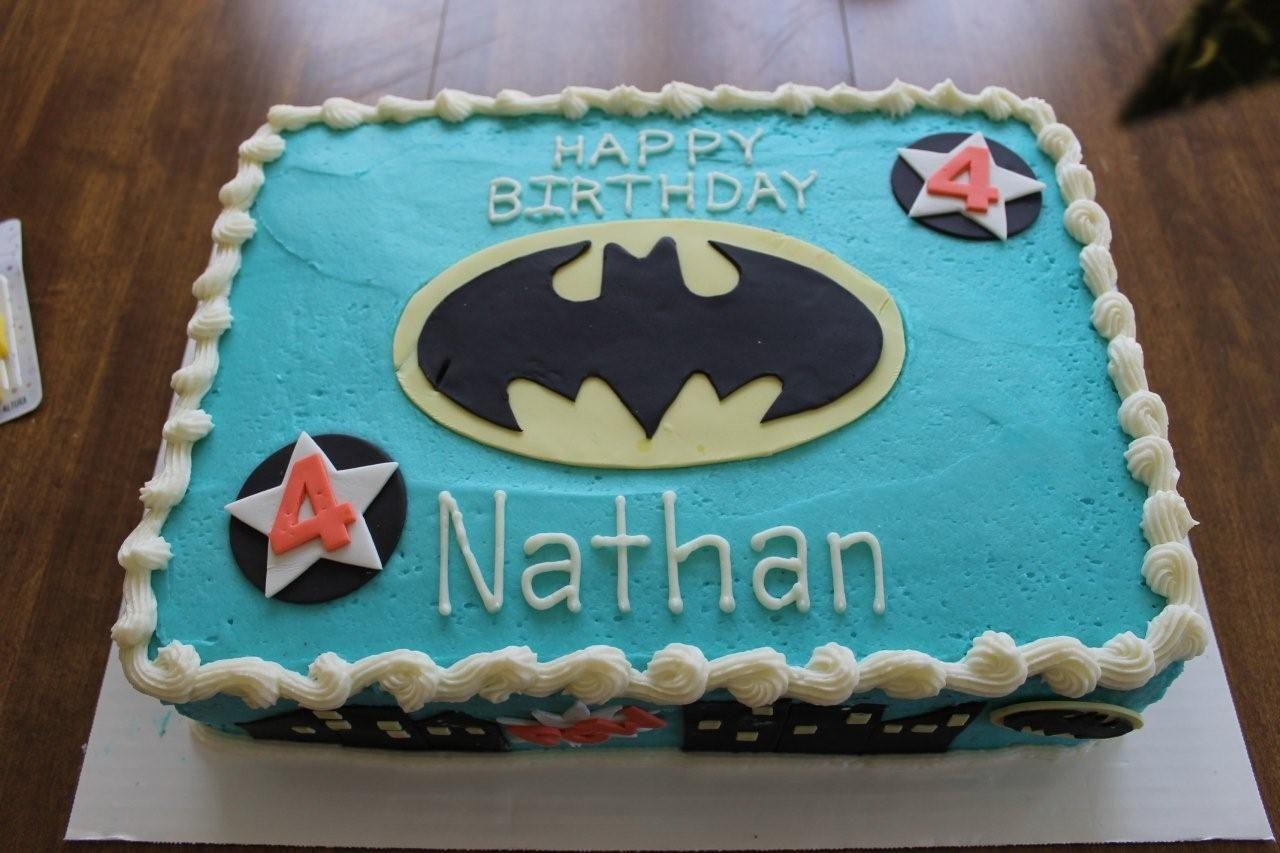 12 sheet batman cake for Nathans birthday I had so much fun