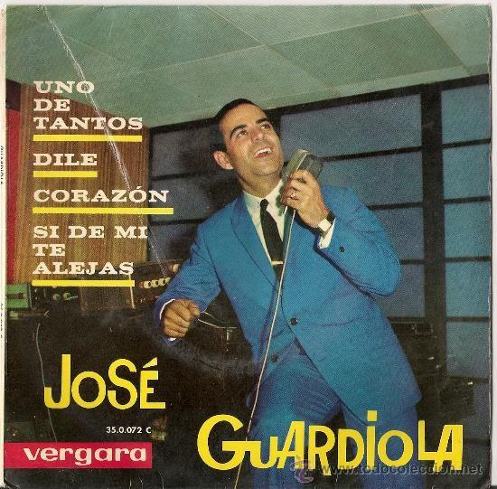Uno de tantos [Grabación sonora] / José Guardiola.-- Barcelona : Vergara, DL 1963. 1GS/M/50