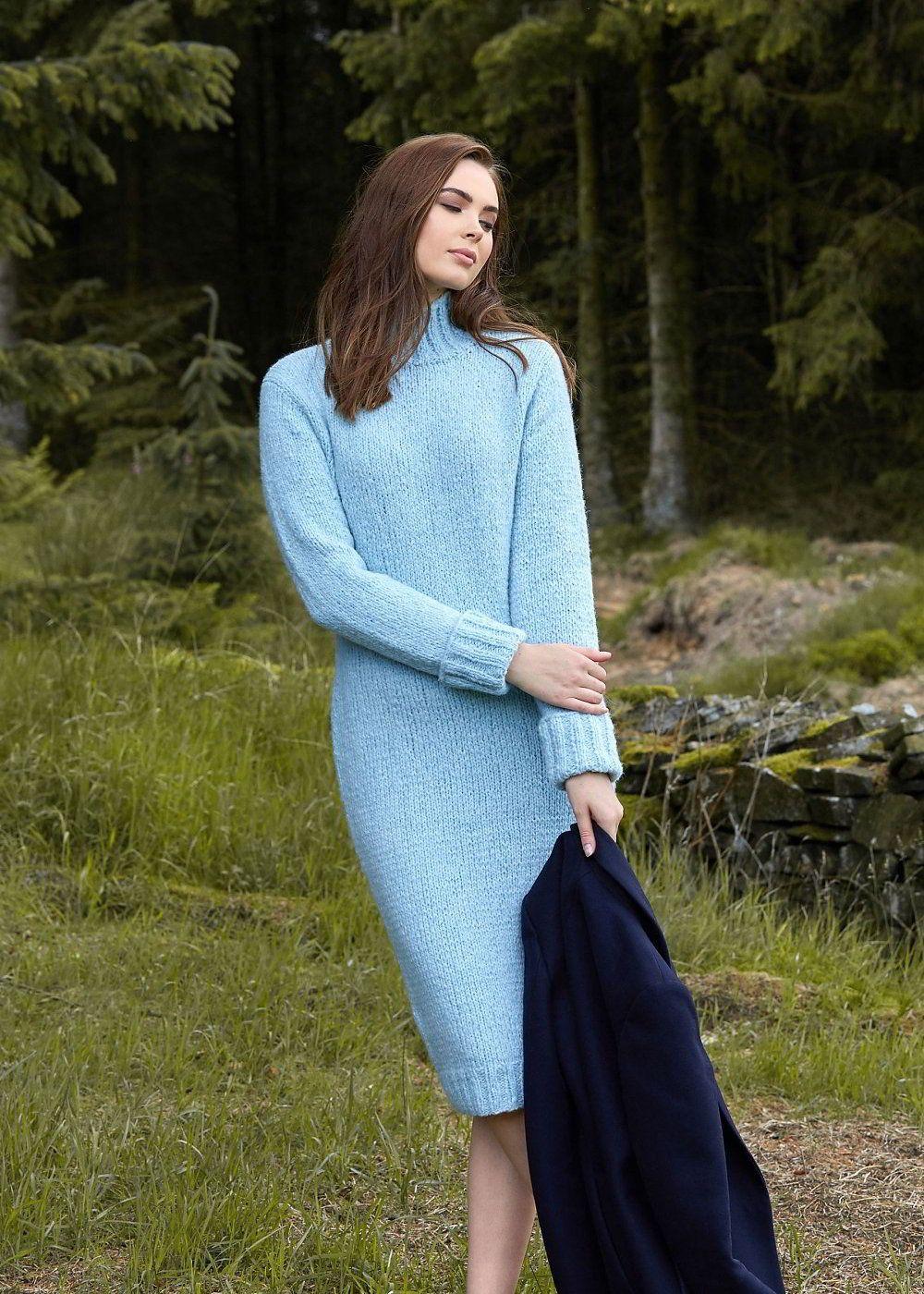 Вязаное Платье На Английском