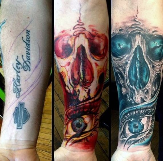 Top 57 Tattoo Cover Up Ideas 2020 Inspiration Guide Forearm Cover Up Tattoos Cover Tattoo Tattoo Sleeve Cover Up