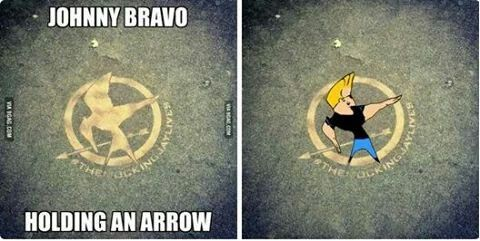 Hahahaha! Johnny Bravo and the Hunger Games