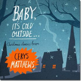 I hate Christmas music, but Cerys Matthews' voice is simply amazing.