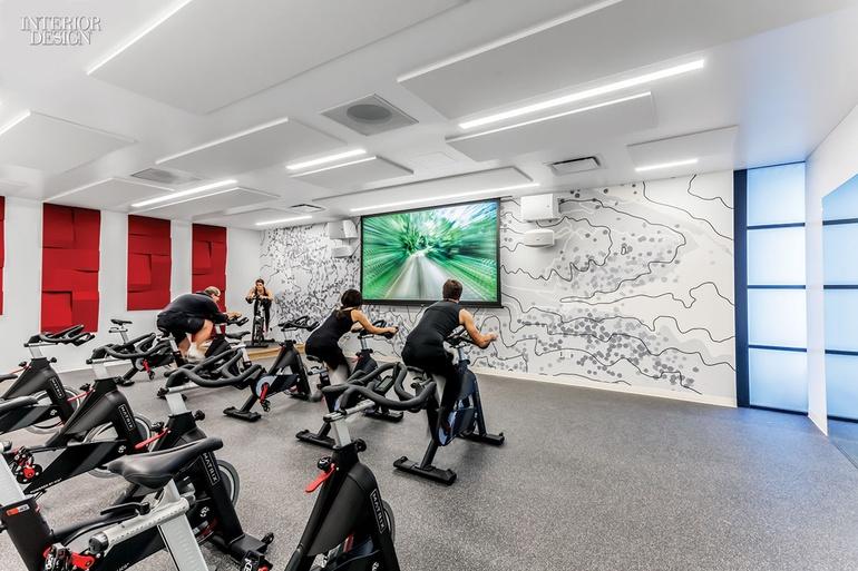 Gensler San Jose S Fitness Center For Symantec Gym Design