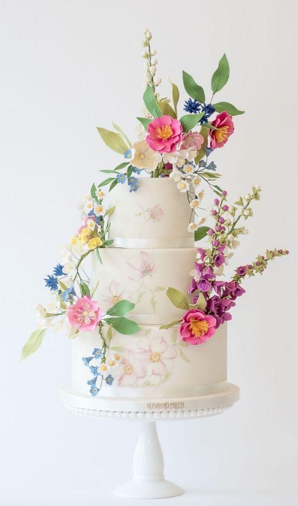 Hochzeitstorte Inspiration – Rosalind Miller Cakes   – Tiered Cakes