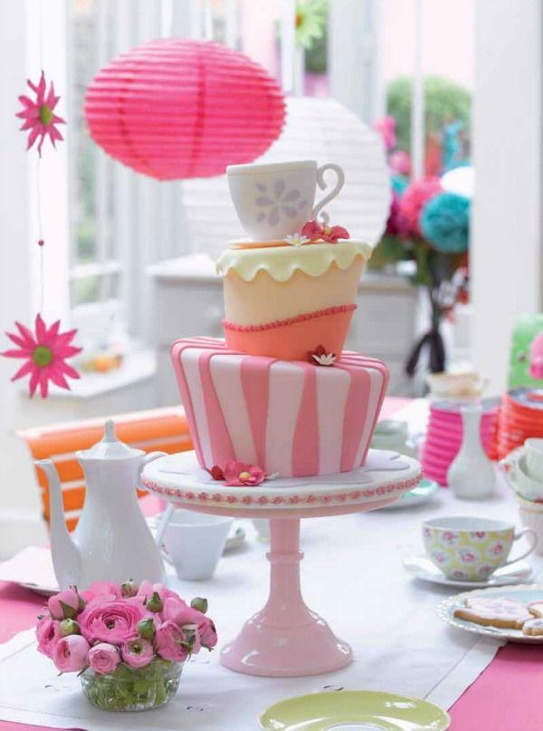 Mad Hatter tea party cake | Vintage | Pinterest | Alicia en el pais ...