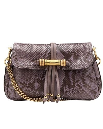 4f31b54bb22153 Gucci python with mauve evening bag - $279 | Gucci Clutches | Gucci ...
