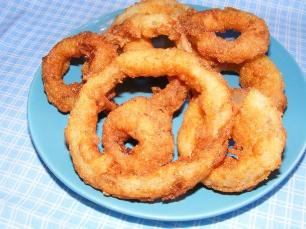 Buttermilk Onion Rings Recipe Food Recipes Onion Rings
