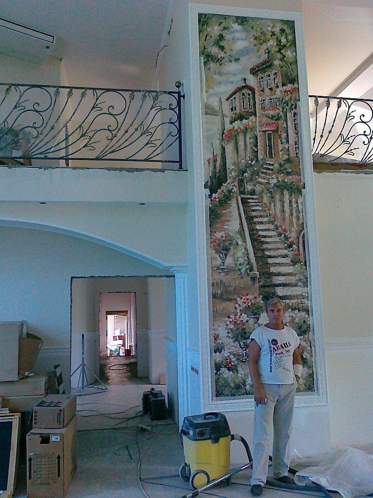 роспись стен - Дизайн - Интерьер Murals
