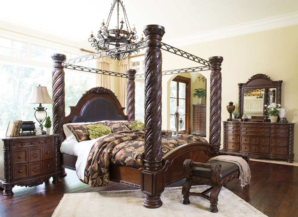 North Shore Canopy Bedroom Set In 2020 Canopy Bedroom Canopy Bedroom Sets King Bedroom Sets