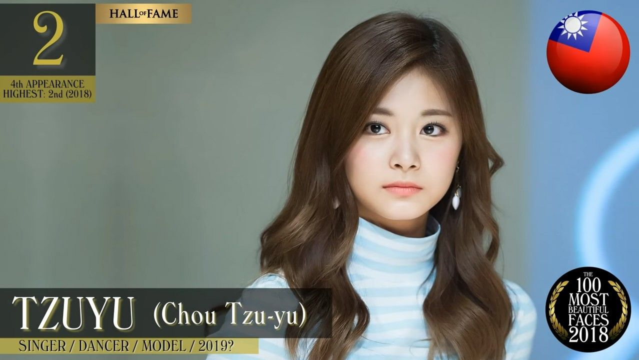 Tzuyu Was Named 2nd Most Beautiful Face In The World 2018 I Predicted Last Year That She Would One Day B Most Beautiful Faces Beautiful Face Beautiful