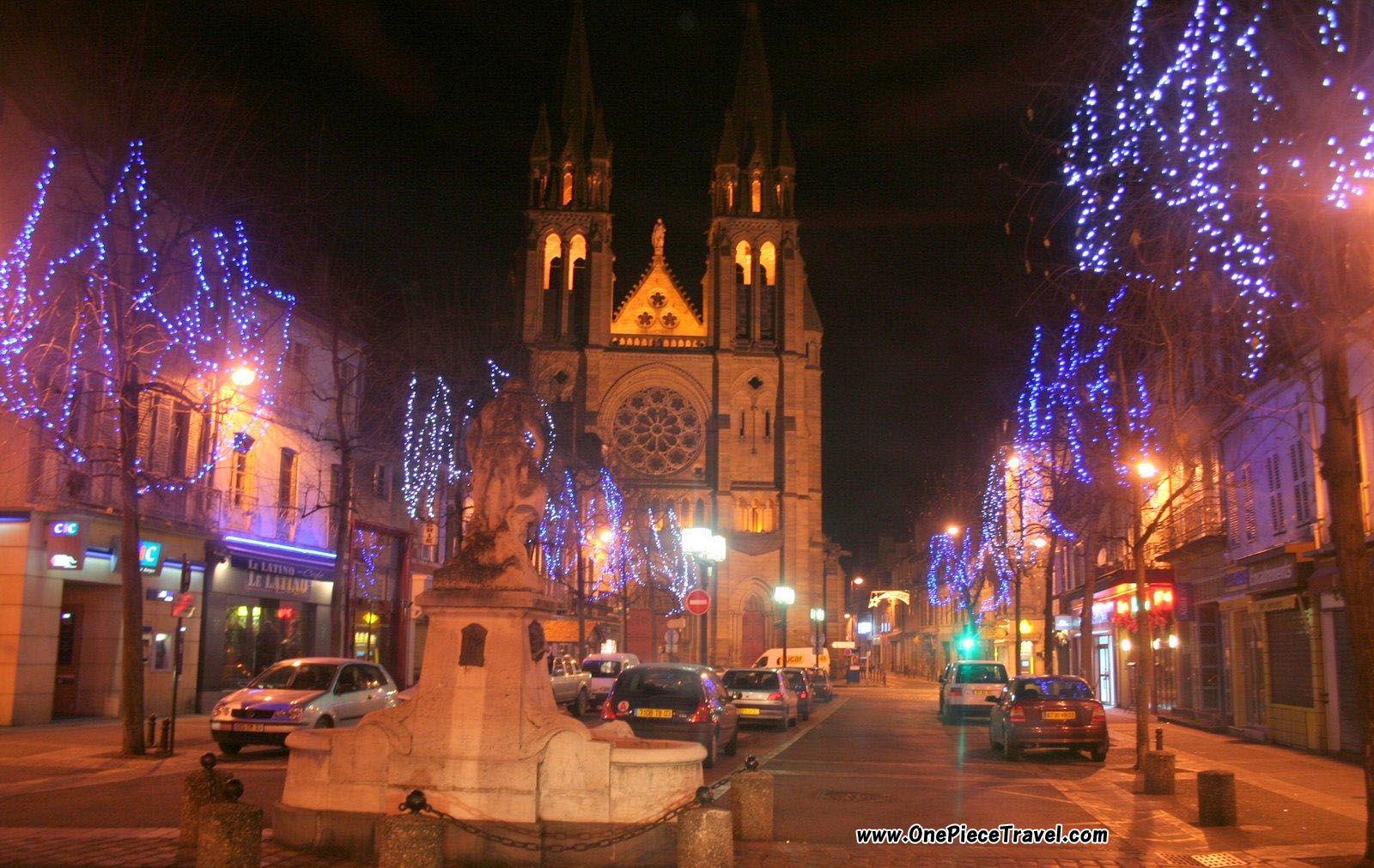 Christmas in Frace Christmas in France France, Around