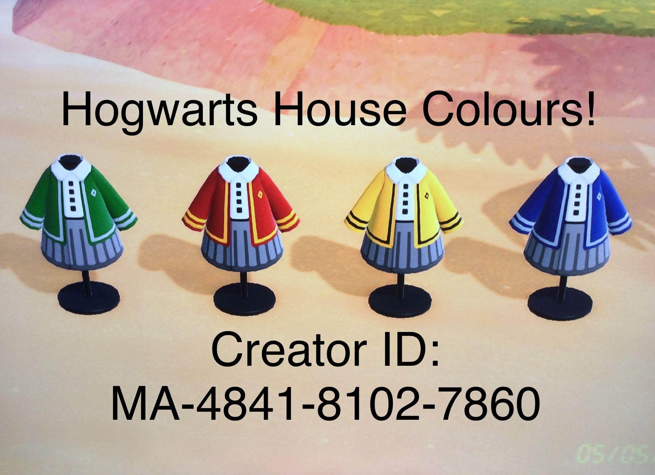 Hogwarts Animal Crossing Custom Designs Animal Crossing Animal Crossing Qr Animal Crossing Game