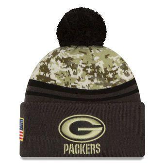 b1d251746 Green Bay Packers Salute to Service New Era Beanie 2016