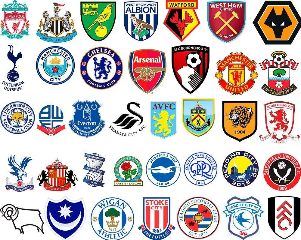 Герб футбольного клуба англии
