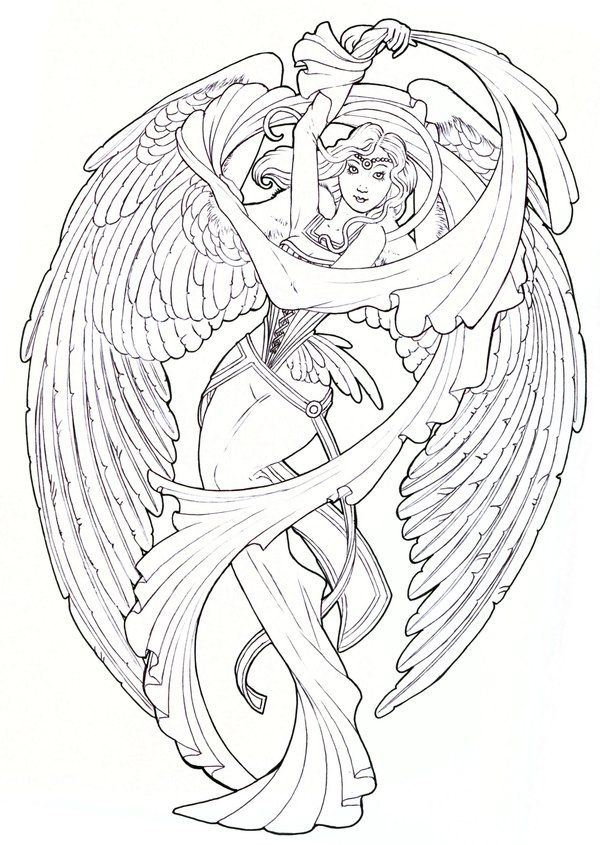 Angels Drawings Your Guardian