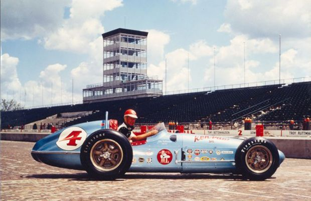 Indy 500 winner 1960: Jim Rathmann  Starting Position: 2  Race Time: 3:36:11.360  Chassis/engine: Watson/Offy