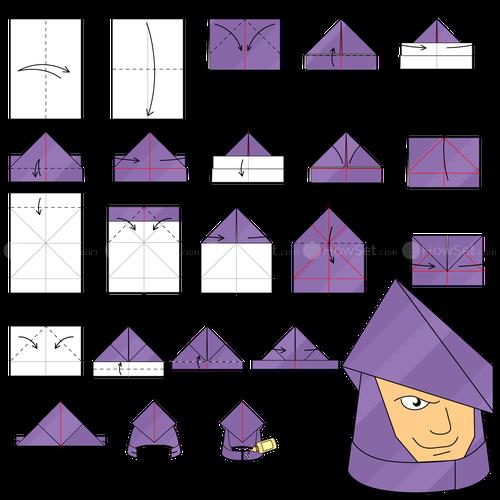 Origami Knight Instructions