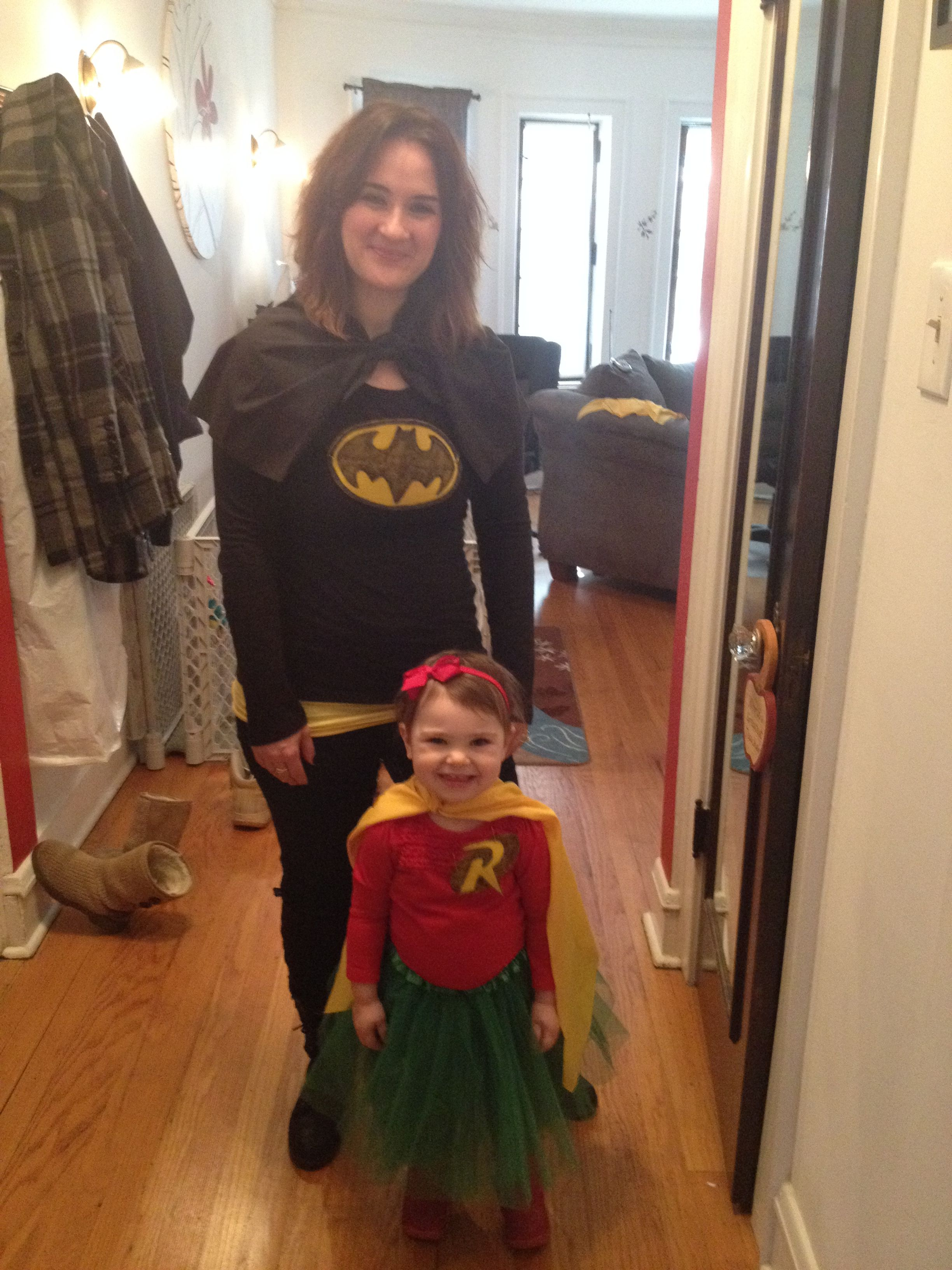 mother-daughter batman and robin