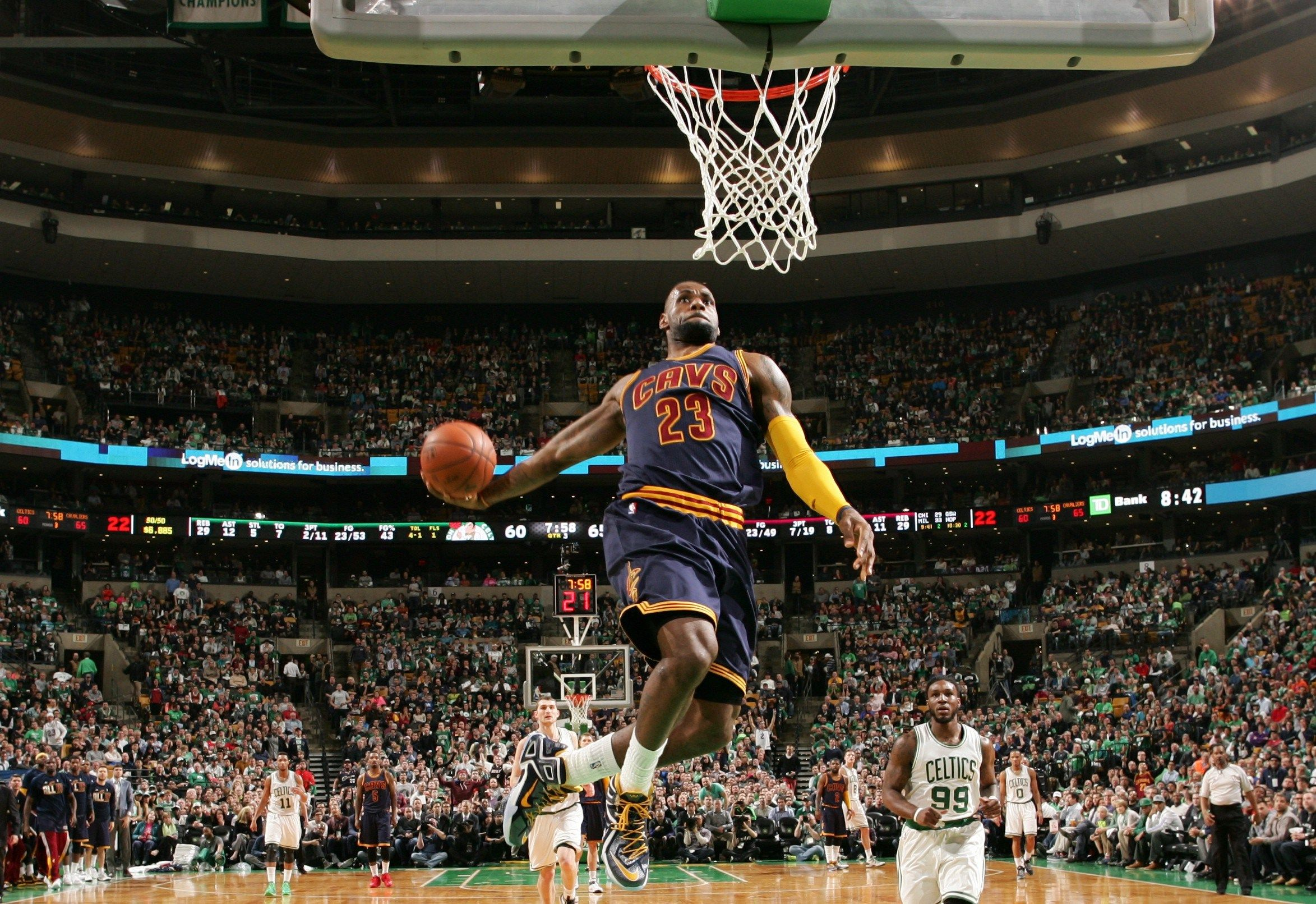Image for Lebron James Dunk Wallpaper Full HD i14ev