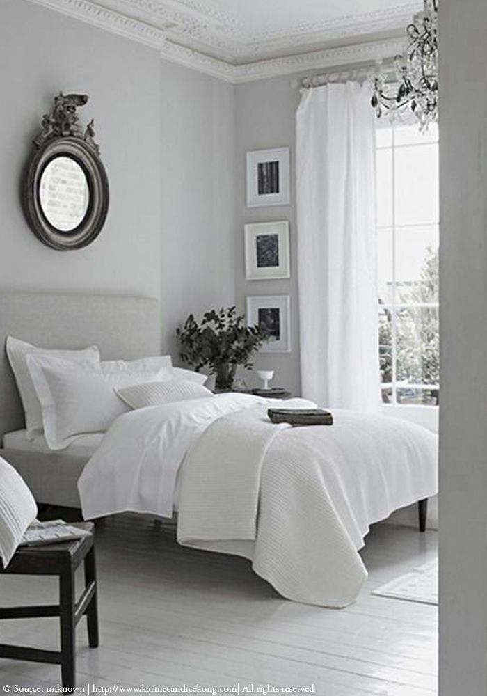 Love the grey for one of rooms More 3 Best Feng Shui Bedroom Layouts  French style Bedrooms and