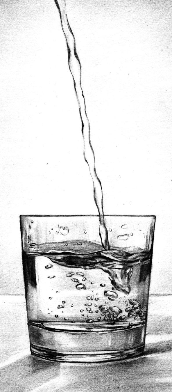 Vaso agua water drawing painting drawing water sketch pencil shading pencil