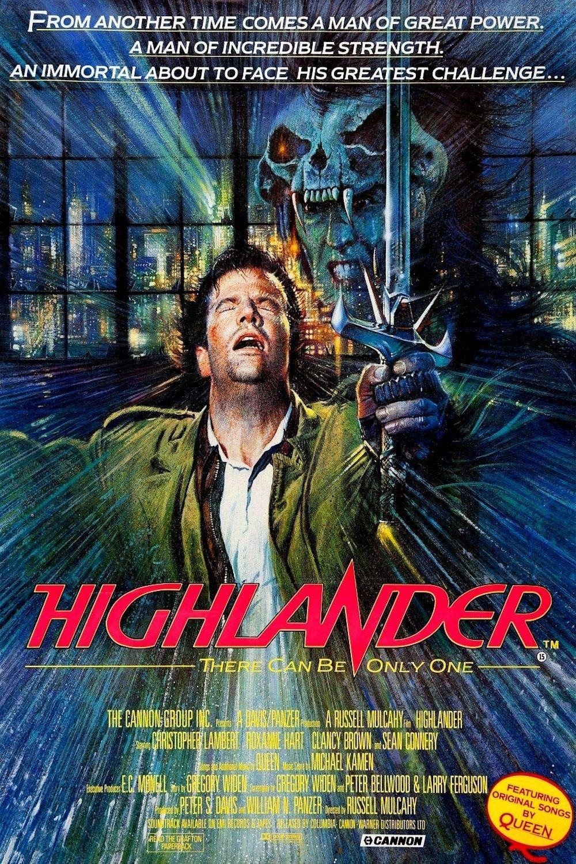 Highlander Filmes Epicos Posteres De Filmes Filmes Historicos