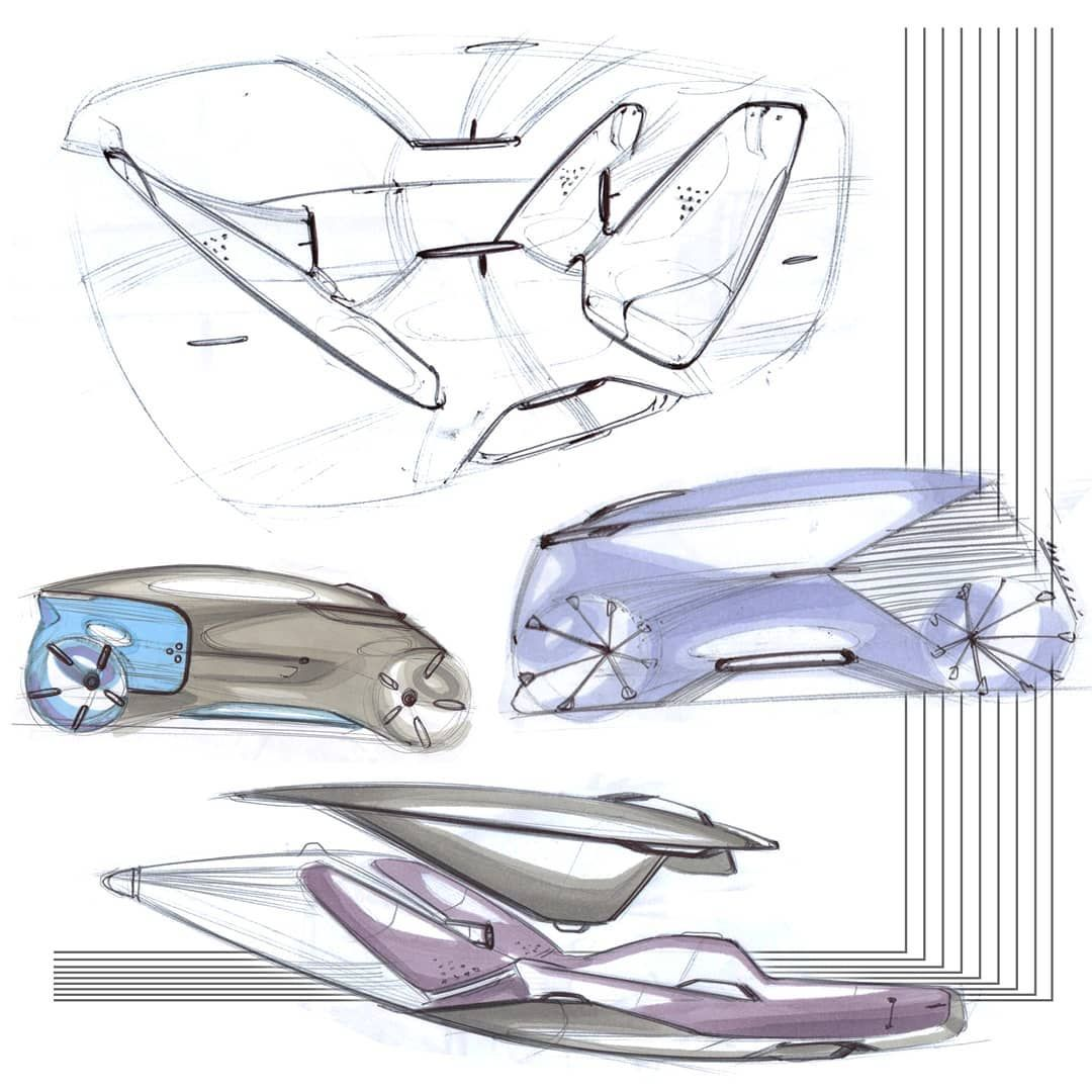 Lukas Rossnagel On Instagram Some More Sketches From My Last University Project Sket Car Interior Design Sketch Car Interior Sketch Interior Design Sketches