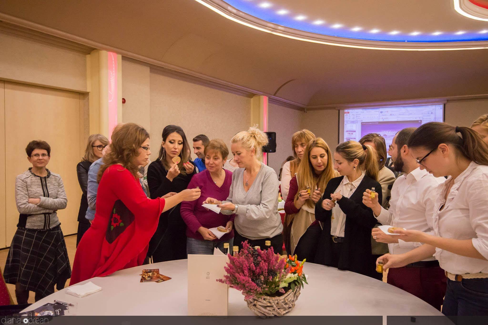 Conference room floral designs by Atelier Floristic Aleksandra concept Alexandra Crisan