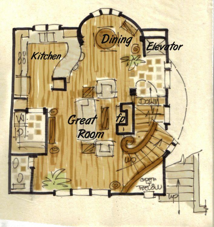 Hobbit House Plan Like The