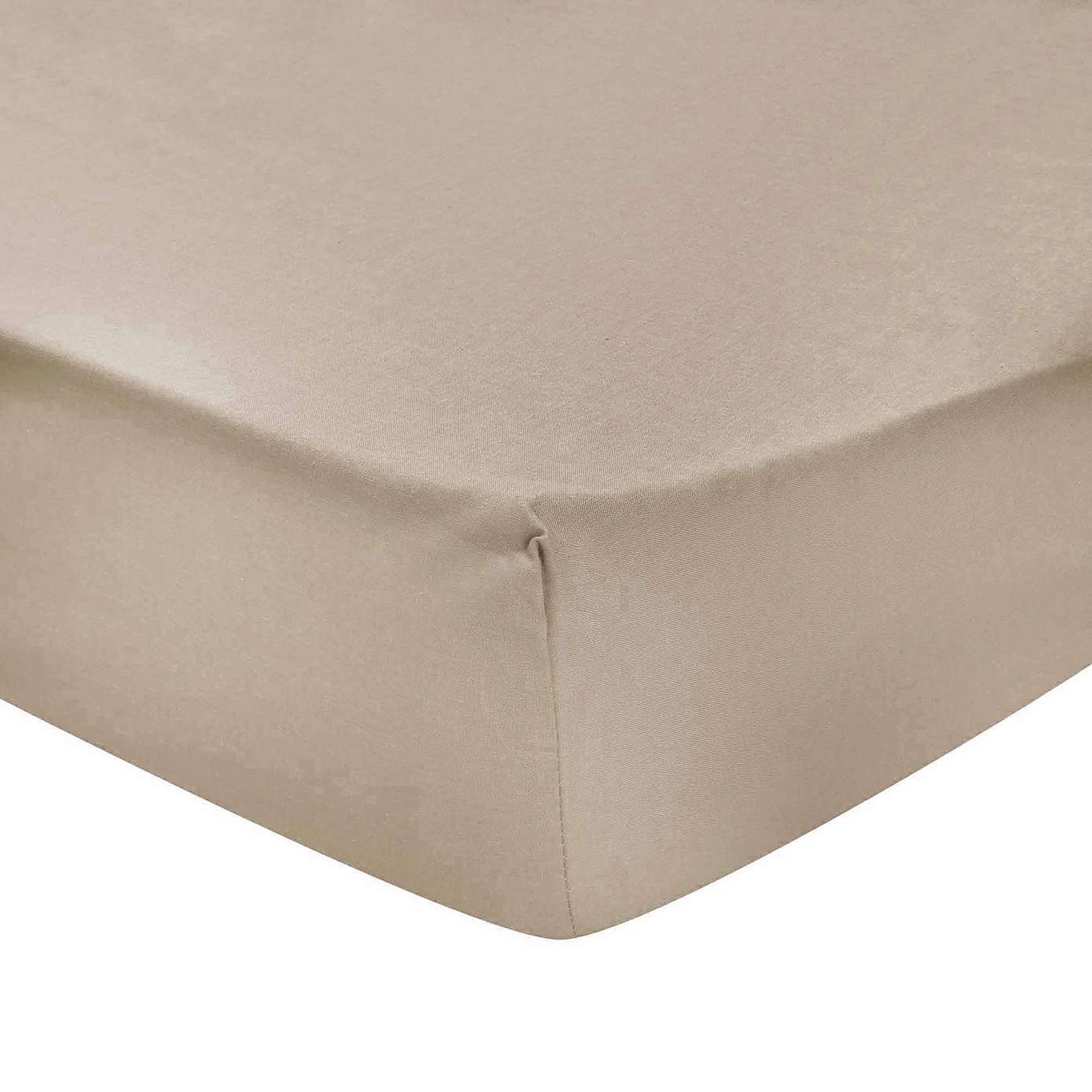 Non Iron Plain Dye 32cm Extra Deep Fitted Sheet Fitted Sheet Plain Sheet