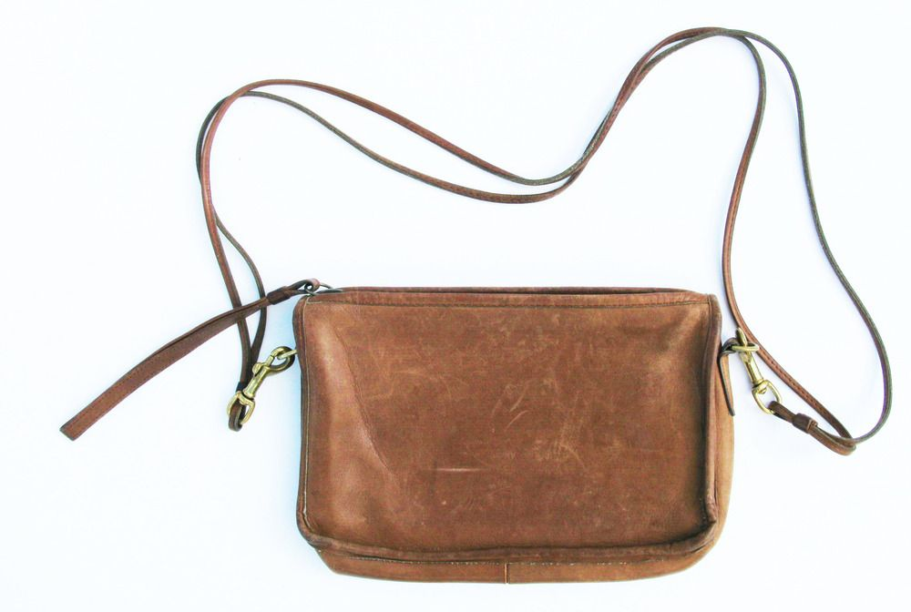 Image of Double Strap Camel Convertible Purse/Clutch