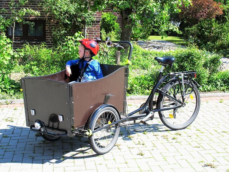 Fancy Bakfiets Cargobike Gr n Fahrrad Christianiarad Christianiabike Lastenfahrrad Leben Ohne
