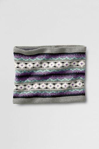 Women's Fair Isle Gaitor from Lands' End #WishPinWin $29.00 | Wish ...