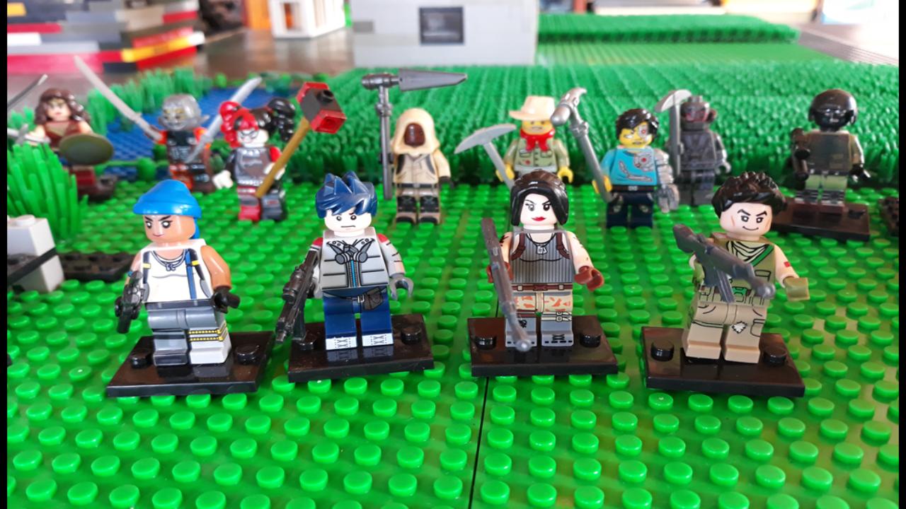 Fortnite Battle Plant Zombie Lego Room Lego