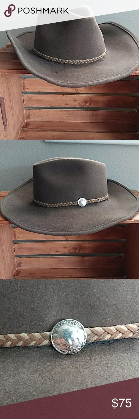 Brown 100 Wool Stetson Hat Stetson Hat Stetson Hats