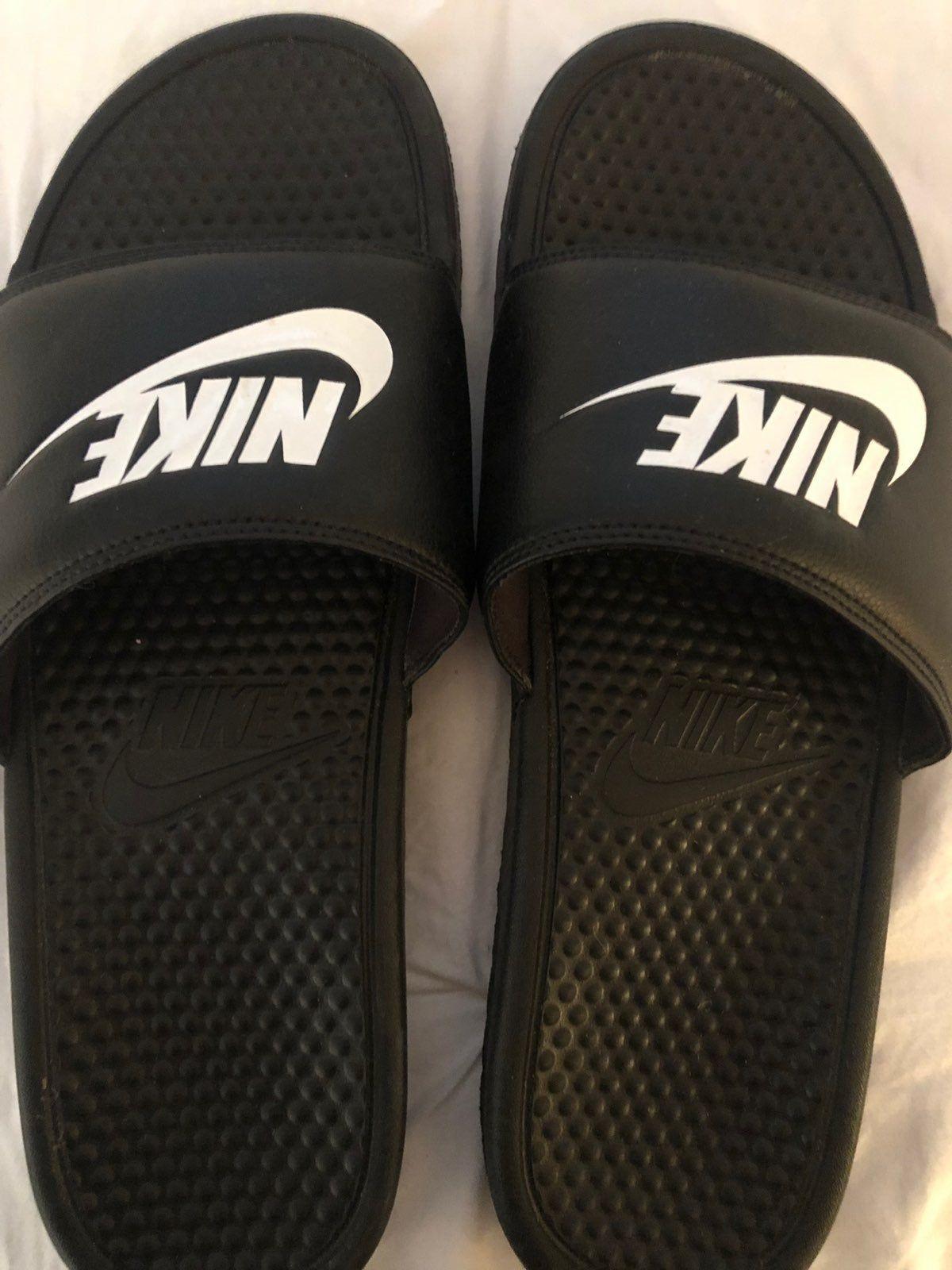 wear. | Nike slides, Nike sandals, Nike