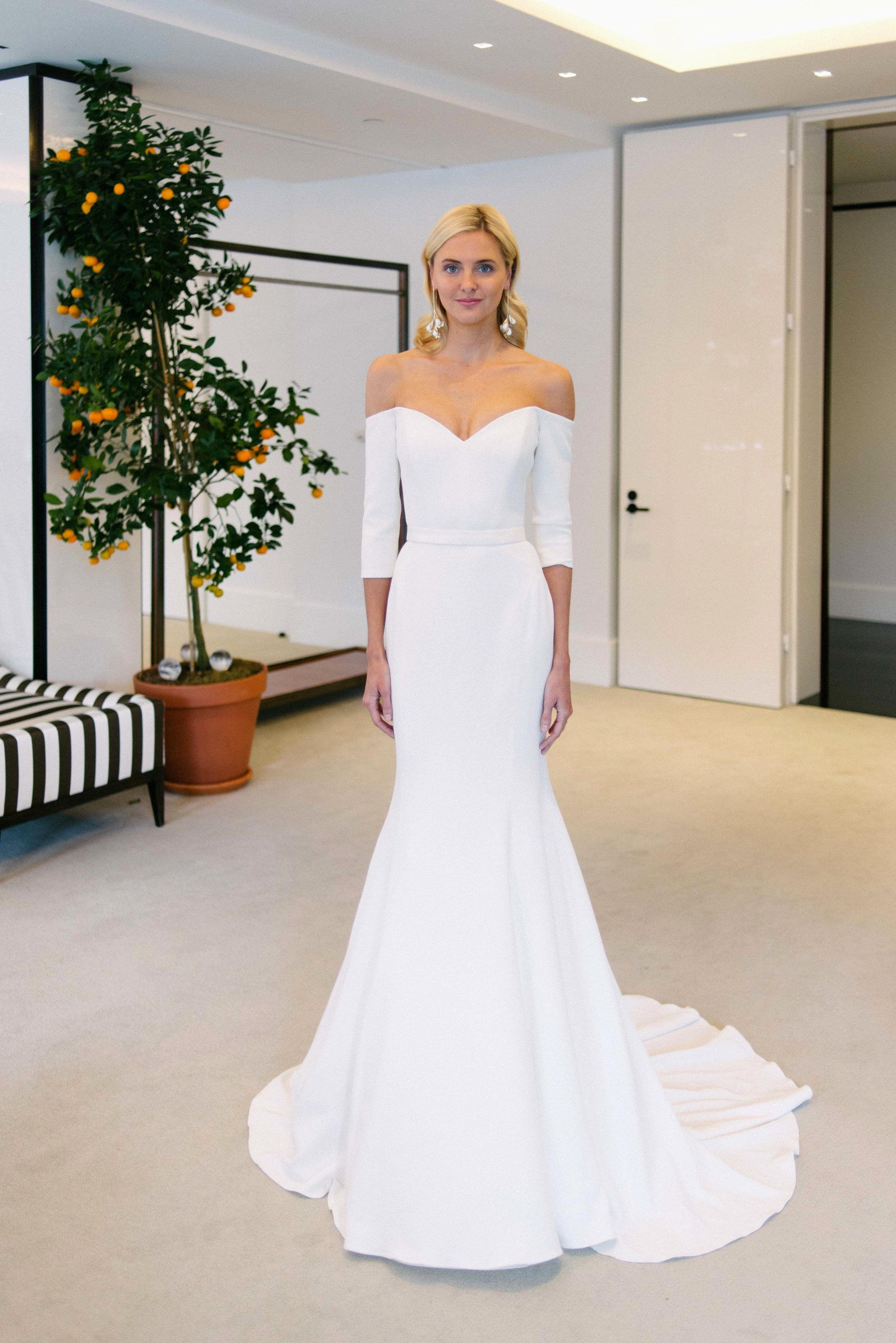 Simple Wedding Dress 2020 Best Of Carolina Herrera Spring 2020 Collection Preview White Bridal Dresses Satin Wedding Best Wedding Dresses