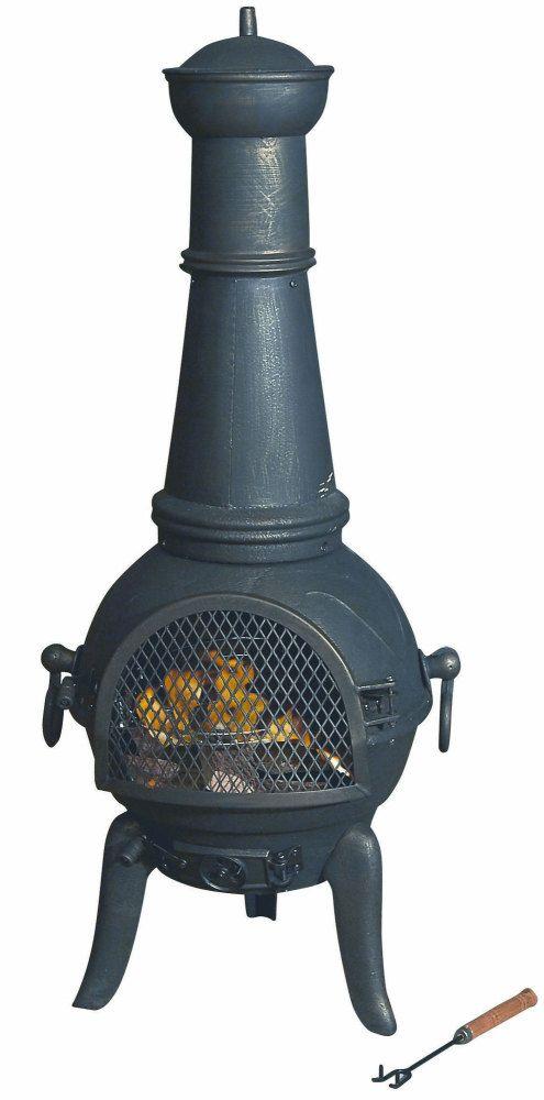 Cast Iron Chimenea Chimnea Patio Heater