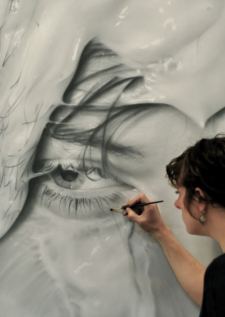 Disorienting, Large-Scale Graphite Drawings by Melissa Cooke | Hi-Fructose Magazine