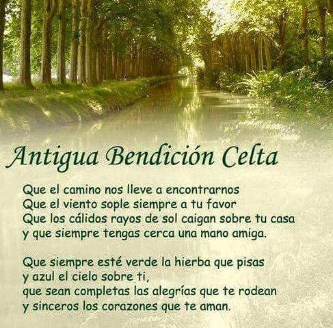 Bendición Celta Bendicion Celta Celta Y Oraciones
