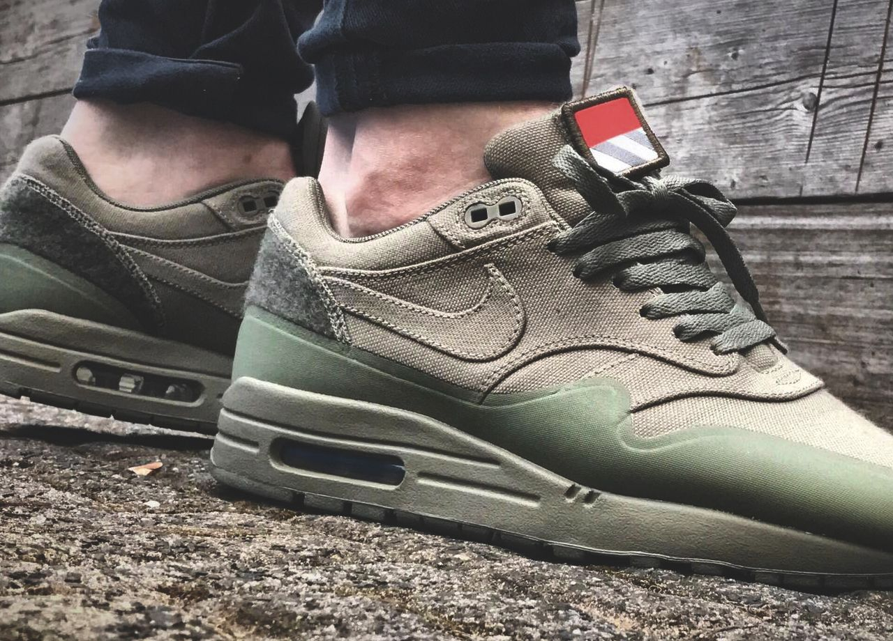 Nike Air Max 1 Patch Pack Steel Green 2015 (by