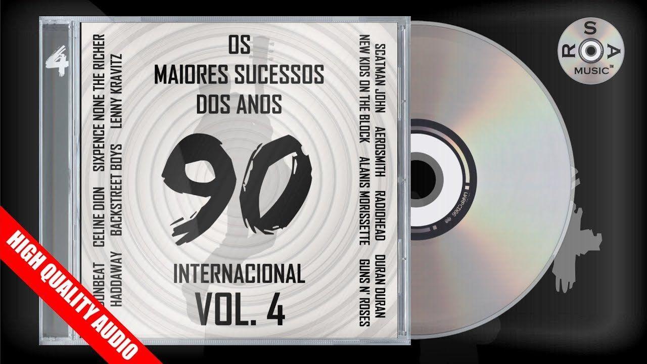Os Maiores Sucessos Dos Anos 90 Internacional Vol 4 Cd Digital