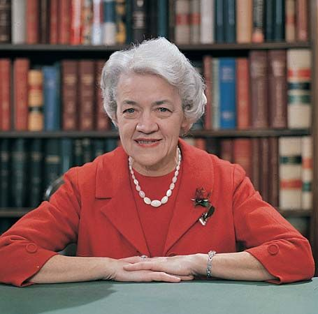 Margaret Chase Smith - the first woman to be placed for in nomination for the presidency
