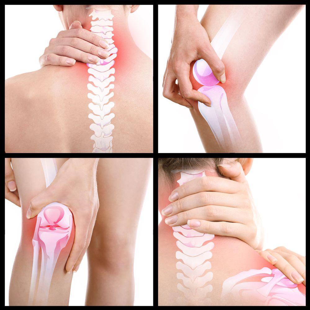 Bolest ruky - klouby