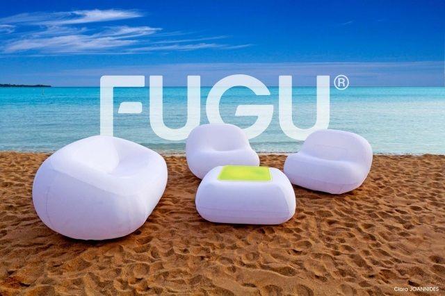 Aufblasbare Möbelserie fugu außen innen stoff bezug komfort ...