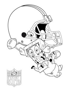 Star Playing Football Nfl Coloring Page For Kids Coloring Pages Football Coloring Pages Coloring Pages For Kids
